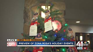 Salvation Army Angel Tree at Zona Rosa - Video