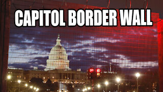 PERMANENT Fence Around Capitol While US Halts Border Wall