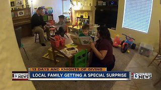 13 Days: Local family gets a special surprise