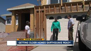 Getting older homes earthquake ready