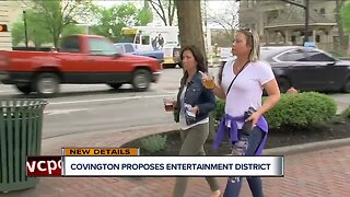 Covington proposes expansion to entertainment district