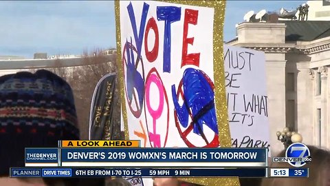 Denver's 2019 Womxn's March is Saturday
