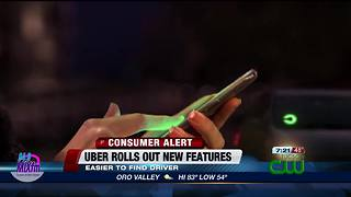 Uber rolls out new feature - Video