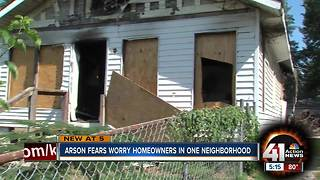 Neighbors believe arsonist is to blame for fires - Video