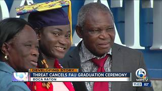 Graduates hope FAU reschedules canceled commencement ceremony - Video