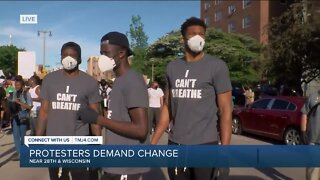 Milwaukee Bucks Players Join Protest