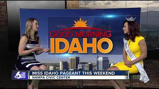Miss Idaho competition this weekend - Video
