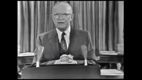 "Pres. Dwight D. Eisenhower ""Military-Industrial Complex"" Speech Origins 