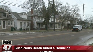 Suspicious death ruled homicide - Video