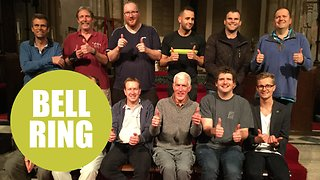 Group of bell ringers smash previous world record for continuous bell ringing - Video