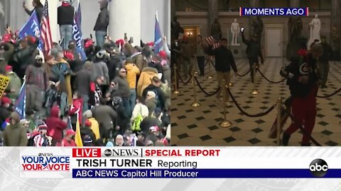 Protesters breach U.S. Capitol building