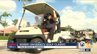 KEISER UNIVERSITY GOLF CLASSIC - Video