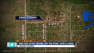 Man dies after driving over Lehigh Acres canal - Video