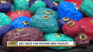 Art Piece for New Pistons Facility