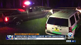 Suspect shot and killed during vehicle chase through multiple counties