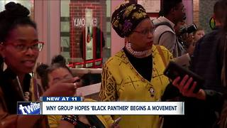 Black Panther premiere gave a new type of representation for the black community in Buffalo - Video