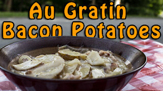 Dutch Oven Au Gratin Potatoes