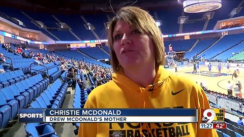 Her son will play NKU basketball for the last time at NCAA tournament