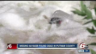 Body of missing kayaker found in Putnam County identified