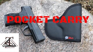 Concealed Carry: Pocket Carry