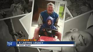 West Bend man's legacy lives on with donations made after his death - Video
