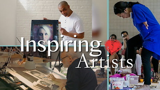 Meet 3 Very Different Artists With 1 Thing In Common: Doing What They Love! - Video