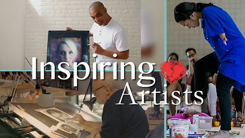 Meet 3 Very Different Artists With 1 Thing In Common: Doing What They Love!
