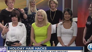 Holiday hair hacks - Video