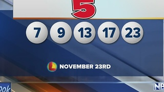 Winning Lotto Numbers - Video