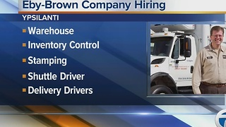 Workers Wanted: Eby-Brown Company hiring - Video