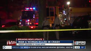 Man,. woman killed in deadly crash