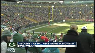 Officers to be extra vigilant during national anthem at Packers game - Video