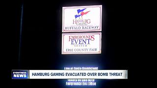 Hamburg Gaming evacuated due to called-in bomb threat - Video