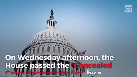 House Passes Nation-Wide Concealed Bill