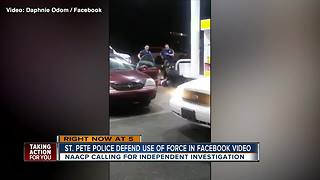 St. Pete Police investigating video that shows officers using taser on man at gas station