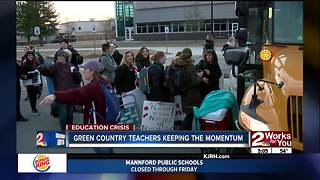 Green Country teachers keeping the momentum - Video