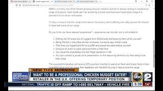 Want to be a professional chicken nugget eater? - Video