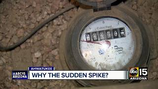 Ahwatukee residents seeing high water bills - Video