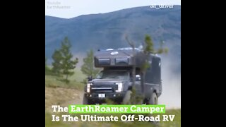 The EarthRoamer Camper Is the Ultimate Outdoorsman RV