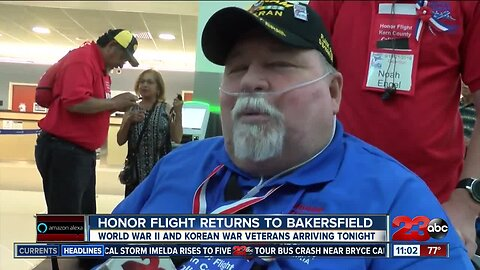 Veterans surprised with large welcoming home