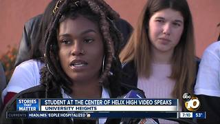 Student slammed to the ground speaks out - Video