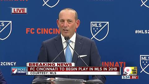 MLS announces FC Cincinnati as expansion team