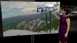 Briefly cooler Tuesday before temperatures start to climb again