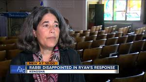 Kenosha rabbi comments on Paul Ryan's town hall response - Video