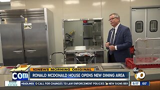 Ronald McDonald House opens new great hall and kitchen