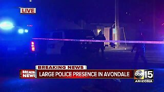 Police situation in Avondale