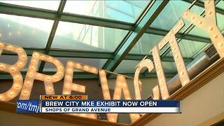 Beer museum and bar opens at Shops of Grand Avenue - Video