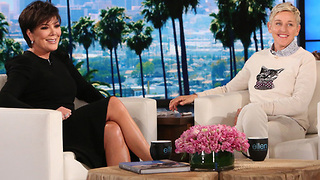 Kris Jenner OPENS UP About Everything On Ellen! From Kylie's Pregnancy To Tristan Cheating!