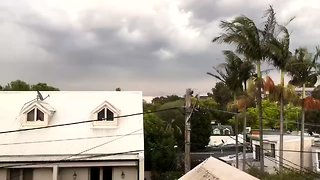 Timelapse Shows Storm Clouds Roll Into Sydney