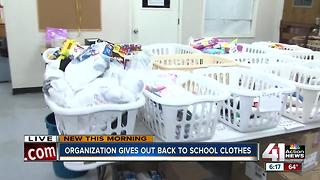 City Union Mission to give free back-to-school outfits to low-income families - Video
